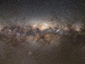 This is how the center of our Milky Way Galaxy, looked on 8/27/13, from New Zealand in the Southern Hemisphere. (Dave Young/Creative Commons, Attribution 2.0 Generic via Flickr)