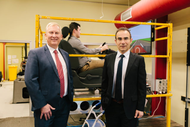 The study's Chief Investigators, Professor Stephen Robinson and Associate Professor Mohammad Fard. (RMIT University)