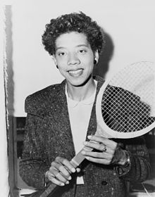 Althea Gibson Stamp Sonny Side Of Sports