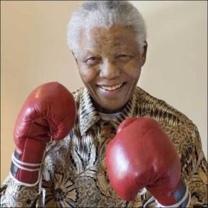 Mandela Boxing Pic