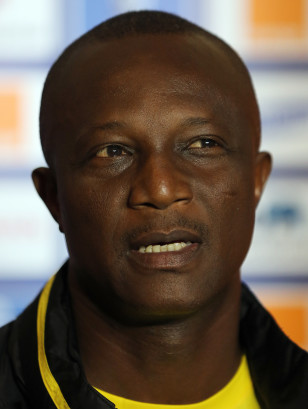Ghana's World Cup coach James Kwesi Appiah. Photo: AP