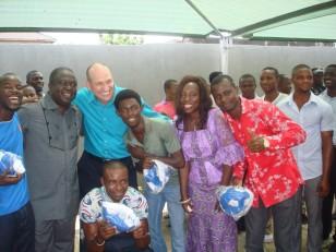 Sonny_Dr. Larry_BridgetSSOS fans_LagosOct14