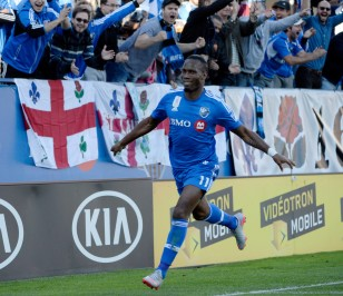 Didier Drogba celebrates one of his two goals against D.C. United on September 26, 2015. Photo: Eric Bolte-USA TODAY Sports