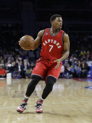 All-Star guard Kyle Lowry of the Toronto Raptors. Photo: Carlos Osorio / AP