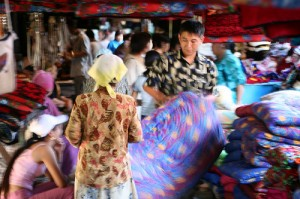 Bishkek market (Photo by Flickr user AfriCommons)