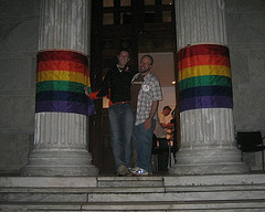 Princeton alumni attend a gay dance at the university's iconic Whig Hall (Photo: Creative commons by Flickr user jsmjr)