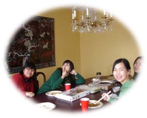 At Chinese Thanksgiving