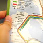 San Francisco public transport map