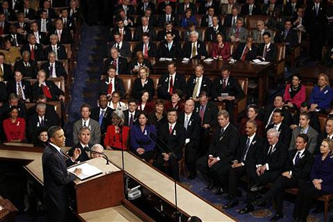 President Obama delivers the State of the Union (Photo: AP)