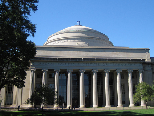 """The Massachusetts Institute of Technology (MIT) is a university, albeit a unique one. See if you can spot what's unusual about this photo of MIT's famous """"big dome"""" (Creative commons photo by Flickr user bbcamericangirl)"""