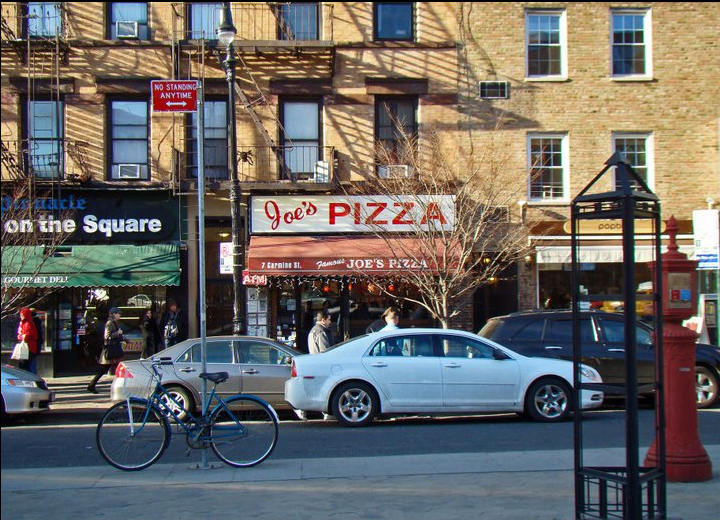 Joe's Pizza - Where Spiderman had a part-time job