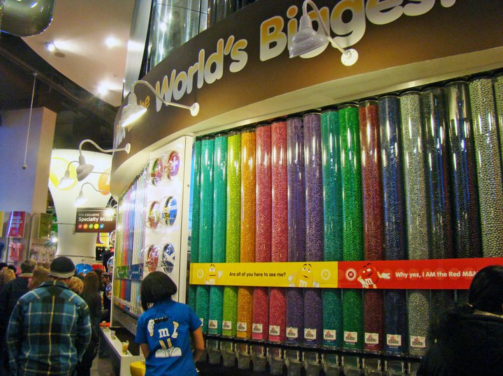 M&M's store in New York