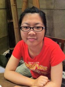 My language exchange partner Angela