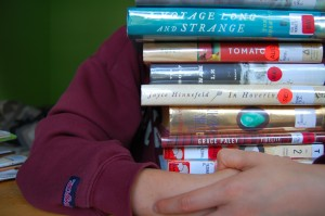 Lots of books (Creative Commons photo by Flickr user sleepyneko)