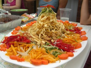 "Yee sang (Creative commons photo by ""Alpha"")"