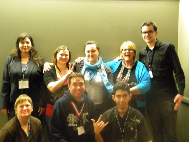 At PTK's international convention in Seattle