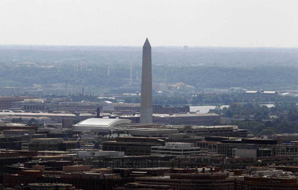 DC seen from above. No skyscrapers in sight. (Photo: Reuters)