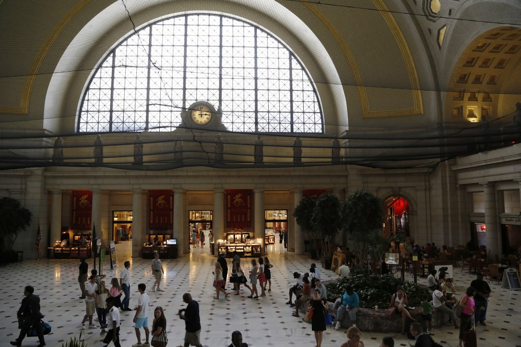 Union Station, the arrival point for D.C. (Photo: Reuters)