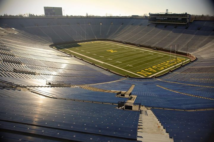 Michigan Stadium, by Andrew Hart