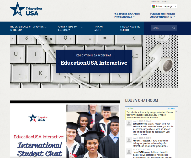 EducationUSA Webinar
