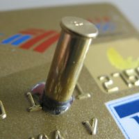 bullet-in-credit-card
