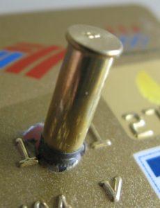 bullet-in-credit-card