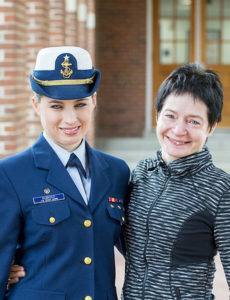 Coast Guard Academy: CGA 2016 Fulbright Scholar. Cadet First Class Jacquelyn Kubicko recipient of Fulbright Scholarship to the United Kingdom. Image courtesy of Petty Officer 2nd Class Richard Brahm (Flickr)