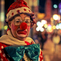 """Hobo the Clown"" Shawn Tron (Flickr)"
