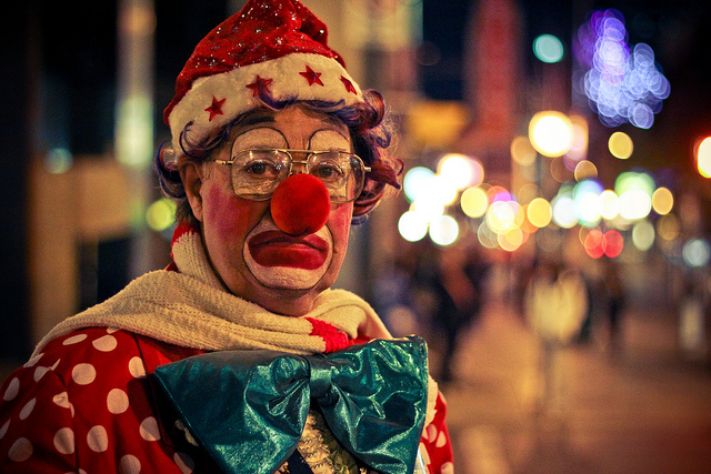 """""""Hobo the Clown"""" Shawn Tron (Flickr)"""