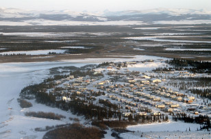 FILE - A handout photo shows the Inupiaq Eskimo village of Noorvik in Western Alaska. (Reuters)
