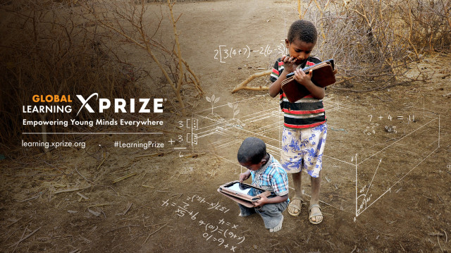 The Global Learning XPRIZE logo, courtesy XPRIZE.