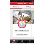 A screenshot from the American Red Cross Team Red Cross app. (American Red Cross)