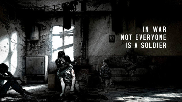 A screenshot from the trailer for This War of Mine, courtesy 11 bit studios.