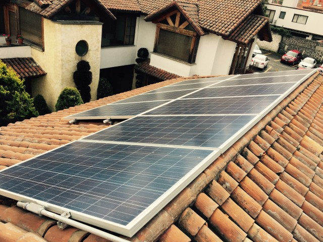 A picture of one of Bright's solar installation in Mexico. (Bright)