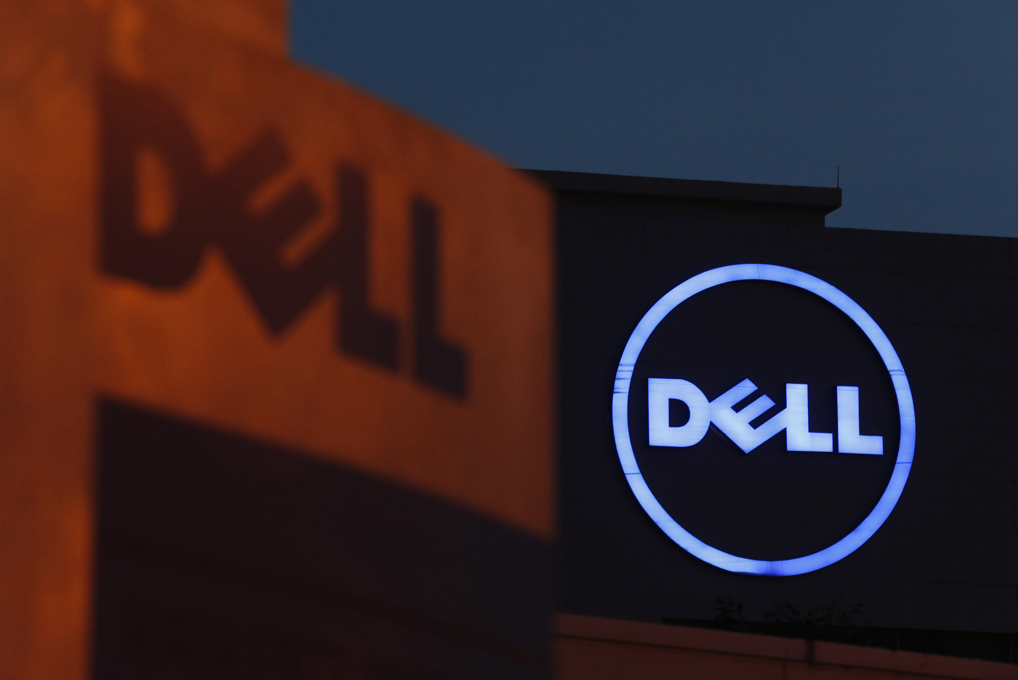 Dell logos are seen at its Cyberjaya headquarters utside Kuala Lumpur, Malaysia, Sept. 4, 2013. The company has issued a fix after a self-signed certificate that shipped with some of its computers put users at risk.