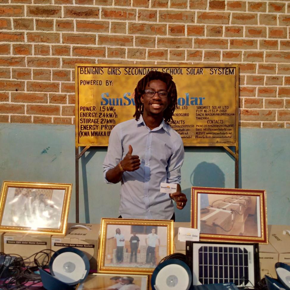 George Mtemahanji. (SunSweet Solar)