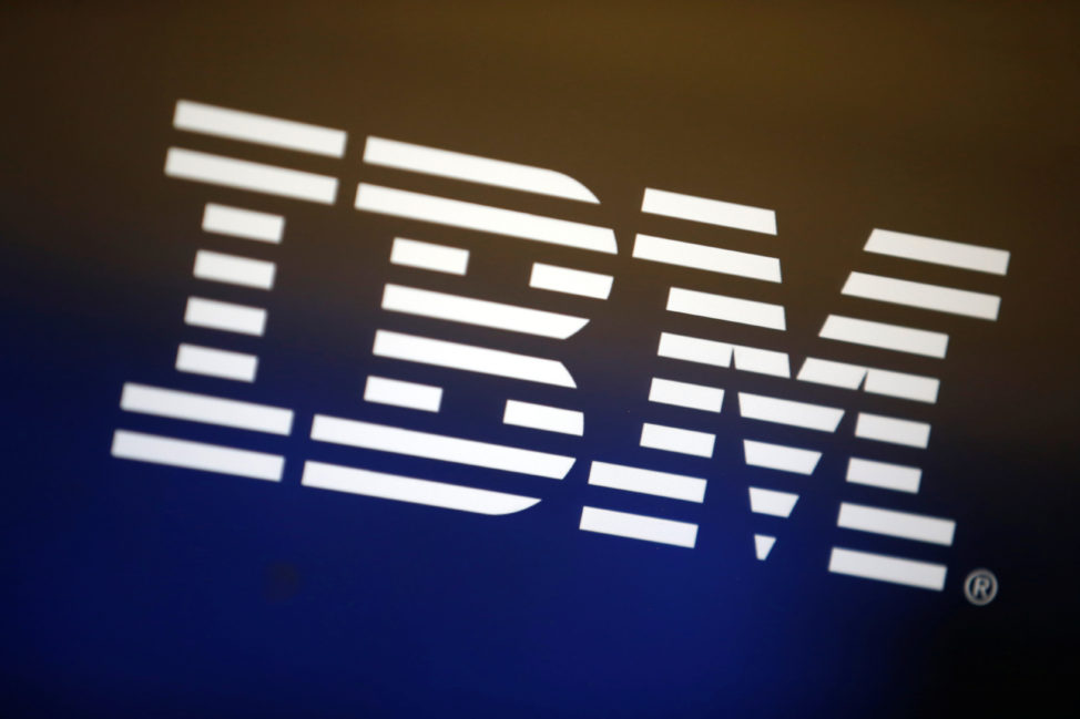 FILE - The logo of IBM is seen on a computer screen in Los Angeles, California, United States, April 22, 2016. (Reuters)