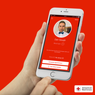 The American Red Cross Blood Donor App won 3SidedCube a Webby for best Health App in the world. (3SidedCube)
