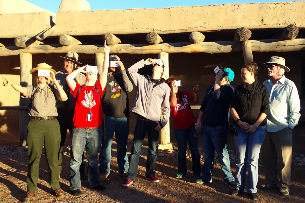 USA Department of the Interior (DOI) National Park Service (NPS) rangers work together with Immersive Education Club college students and high school students to recreate historic Bent's Old Fort in Virtual Reality (VR) for American culture and history. (IED)