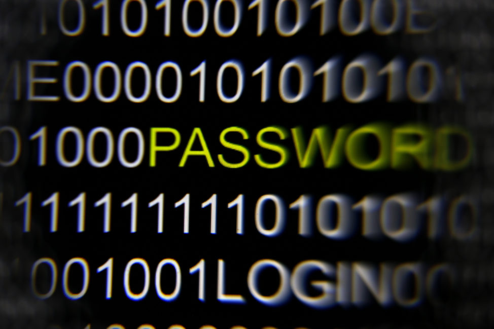 FILE - The word 'password' on a computer screen is magnified with a magnifying glass in this picture illustration taken in Berlin, Germany. (Reuters)