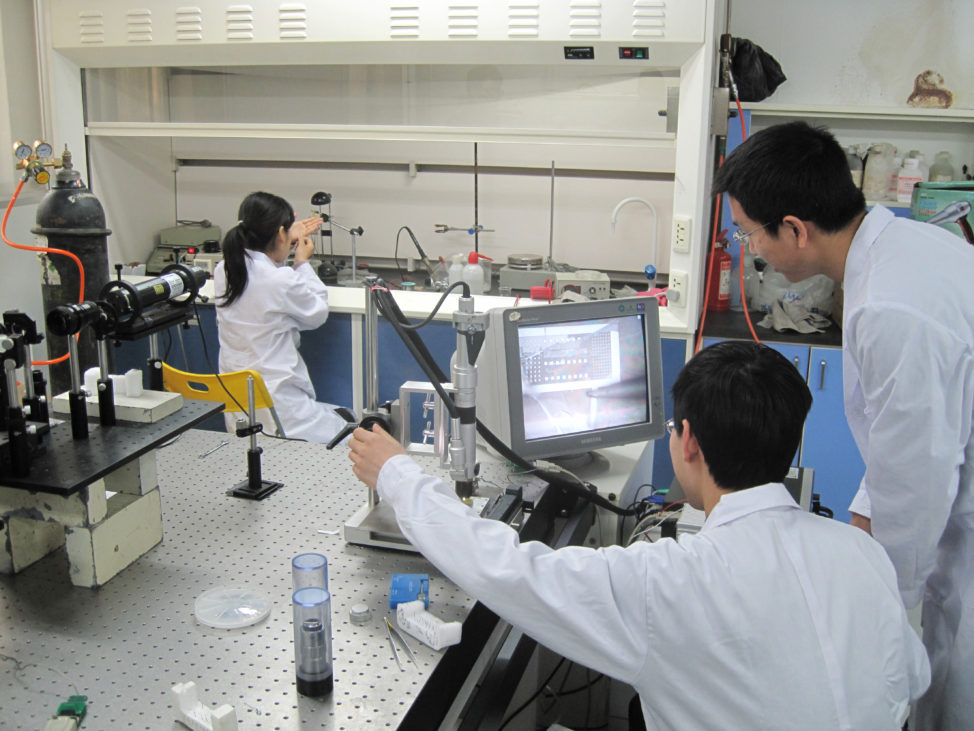 Scientists at Tsinghua University in China use IBM's World Community Grid to discover the conditions necessary for moving water through carbon nanotubes 300 percent faster without requiring additional energy. The discovery has implications for more efficient water filtration. (Tsinghua University)