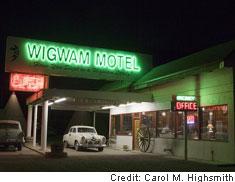 Vacant motel