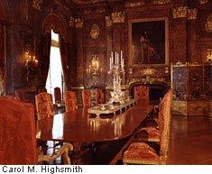 Cornelius Vanderbilt's dining room