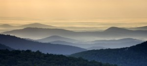 You sure can't see a Blue Ridge Mountain scene like this from congested Centreville today, but you can get there in less than an hour.  (Brendan Reals)
