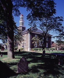 Christ Church in Alexandria was the home church of President George Washington and, years later, Robert E. Lee, the commander of southern forces in the U.S. Civil War.  (Carol M. Highsmith)