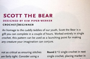 The creator of, or writer about, Scott the Bear is of the hyphenated persuasion.  (kpwerker, Flickr Creative Commons)