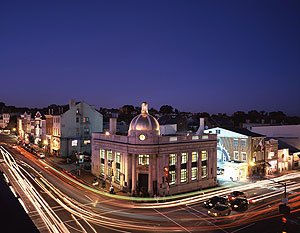 A lot of smart people live in Georgetown — Washington, D.C.'s, most prestigious neighborhood.  (Carol M. Highsmith)