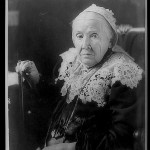 "Julia Ward Howe, a poet and ardent abolitionist, was inspired to write the ""Battle Hymn"" after meeting President Abraham Lincoln and watching troops parade. (Library of Congress)"