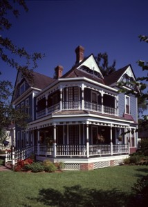 This flourish-filled Victorian stands out in Lake Charles's lovely Charpentier District, whose homes were built before thousands of pines and cypress trees were erased from the landscape during a lumber boom. (www.VisitLakeCharles.org)