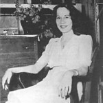 Toni Jo Henry ended up in an entirely different kind of chair after her crime spree.  (AP file photo)